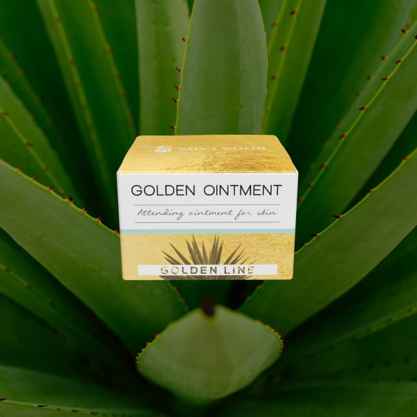 Golden ointment - attending ointment for skin