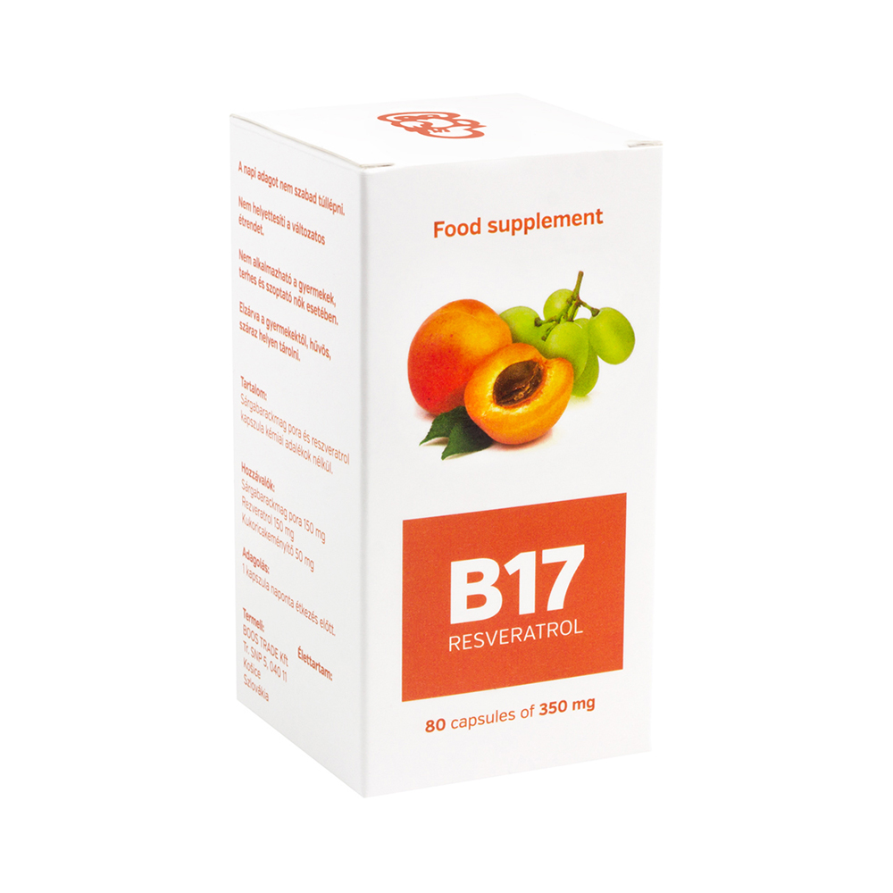 VITAMIN B17 + Antioxidant RESVERATROL - Reparex Shop UK