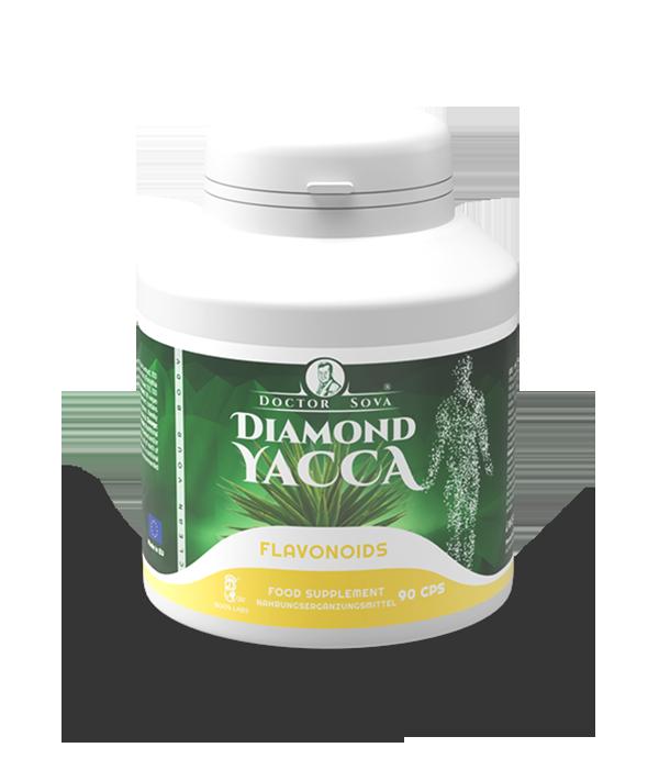 Diamond yacca Flavonoids